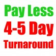 4-5 Day Turn Around Flyer Printing