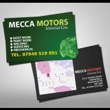 Luxury Business Cards, 400gsm, Matt laminated, Litho
