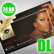 DL Flyers 135gsm (Next Day Turnaround) (Double Sided)